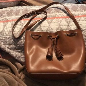 Cognac purse by Old Navy!!